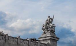 Rome sculptures, Italy Stock Photos