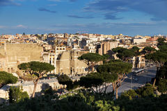 Rome seen from above Royalty Free Stock Photo