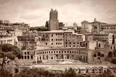 Rome sepia Stock Photos