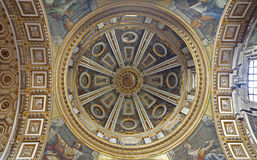 Rome - side cupola of st. Peter s basilica Stock Photo