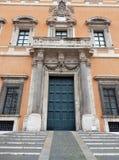 Rome - sidoingång av den Lateran slotten Royaltyfria Bilder