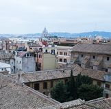 rome sikt Arkivbild