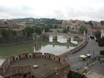 rome sikt Fotografering för Bildbyråer