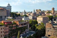 rome sikt Arkivfoton
