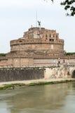 Rome - sikt av Castel Sant Angelo, Royaltyfria Foton