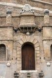 Rome - sikt av Castel Sant & x27; Angelo Arkivfoton