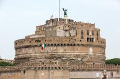 Rome - sikt av Castel Sant ` Angelo Arkivbilder
