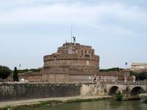 Rome - sikt av Castel Sant ` Angelo, Royaltyfri Foto
