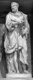 Rome - skulpturen av St Peter av Leonardo Sormani (1530 - 1589) i kyrkliga San Pietro i Montorio Royaltyfri Foto