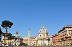Rome skyline Stock Photo