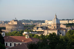 Rome skyline Stock Image