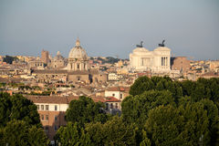 Rome skyline Stock Images