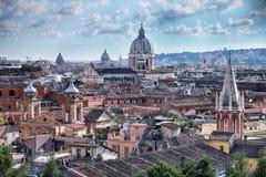 Rome Skyline Royalty Free Stock Image
