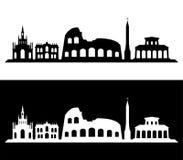 Rome skyline Stock Photography