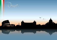 Rome skyline Stock Image