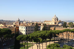 Rome skyline Stock Photos