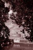 Rome slotthelgonängel Fotografering för Bildbyråer