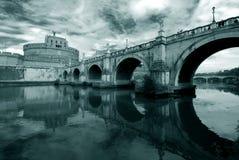 Rome slotthelgonängel Royaltyfria Bilder