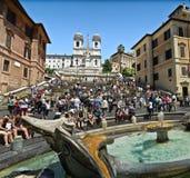 rome spanish kroki zdjęcie royalty free