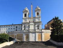 Rome - Spanish Steps Stock Photo