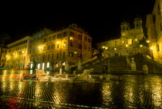 Rome, Spanish Steps Royalty Free Stock Photos