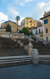 rome spanjormoment Arkivbilder
