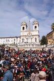 Rome - spanska moment Fotografering för Bildbyråer