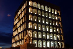Rome, Square Colosseum Royalty Free Stock Image