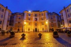 Rome. Square of St. Ignatius of Loyola. Stock Photos