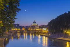 Rome St Peter Arkivfoto