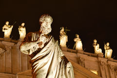 Rome St Peter Basilica Arkivbild