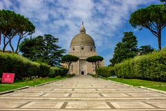 Rome, St. Peter and Paul`s Basilica Eur. 09/09/2018 royalty free stock photo