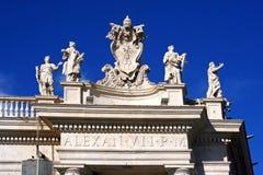 Rome St Peter ` s Arkivbild