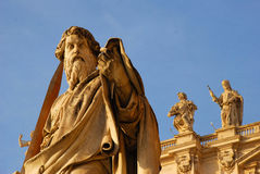 Rome - St. Peter's Basilica royalty free stock photo