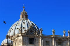 Rome - St, Peter's Basilica Royalty Free Stock Photography