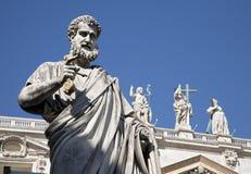 Rome - st. Peter s satatue Royalty Free Stock Image
