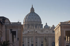 Rome, St. Peter`s Square Royalty Free Stock Photos