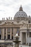 Rome, St. Peter`s Square Royalty Free Stock Image