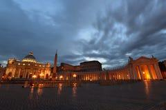 Rome, St Peter Square Royalty-vrije Stock Afbeeldingen