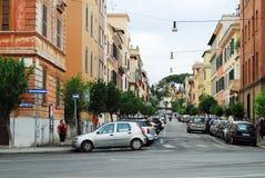 Rome stadsliv Sikt av den Rome staden på Maj 31, 2014 Arkivfoto