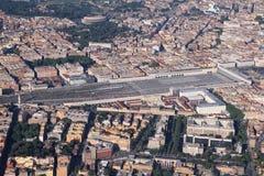 rome stationstermini Arkivfoton