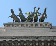 Rome statue royalty free stock photography
