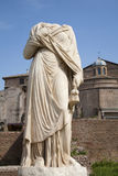 Rome - statue from Atrium Vestae Royalty Free Stock Images