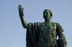 Rome Statue of Emperor Trajan Royalty Free Stock Image