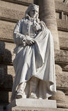 ROME - Statue of philosopher Vico Stock Photography