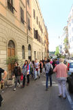 Rome street Royalty Free Stock Images