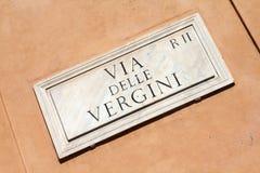 Rome street Stock Photos