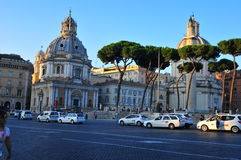 Rome street view Royalty Free Stock Photography