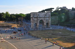 Rome street view Royalty Free Stock Image