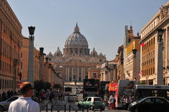 Rome street view Royalty Free Stock Images